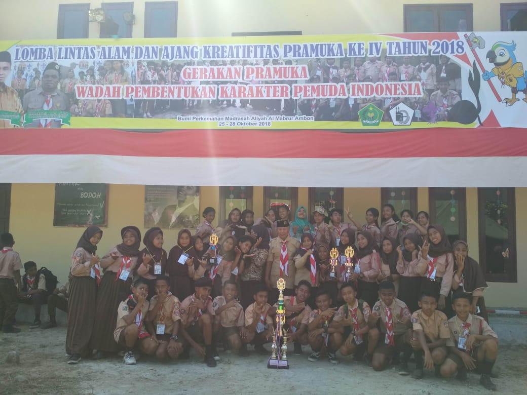 SMP Pattimura Raih Juara 1 Lintas Alam dan Ajang Kreatifitas Pramuka ke IV