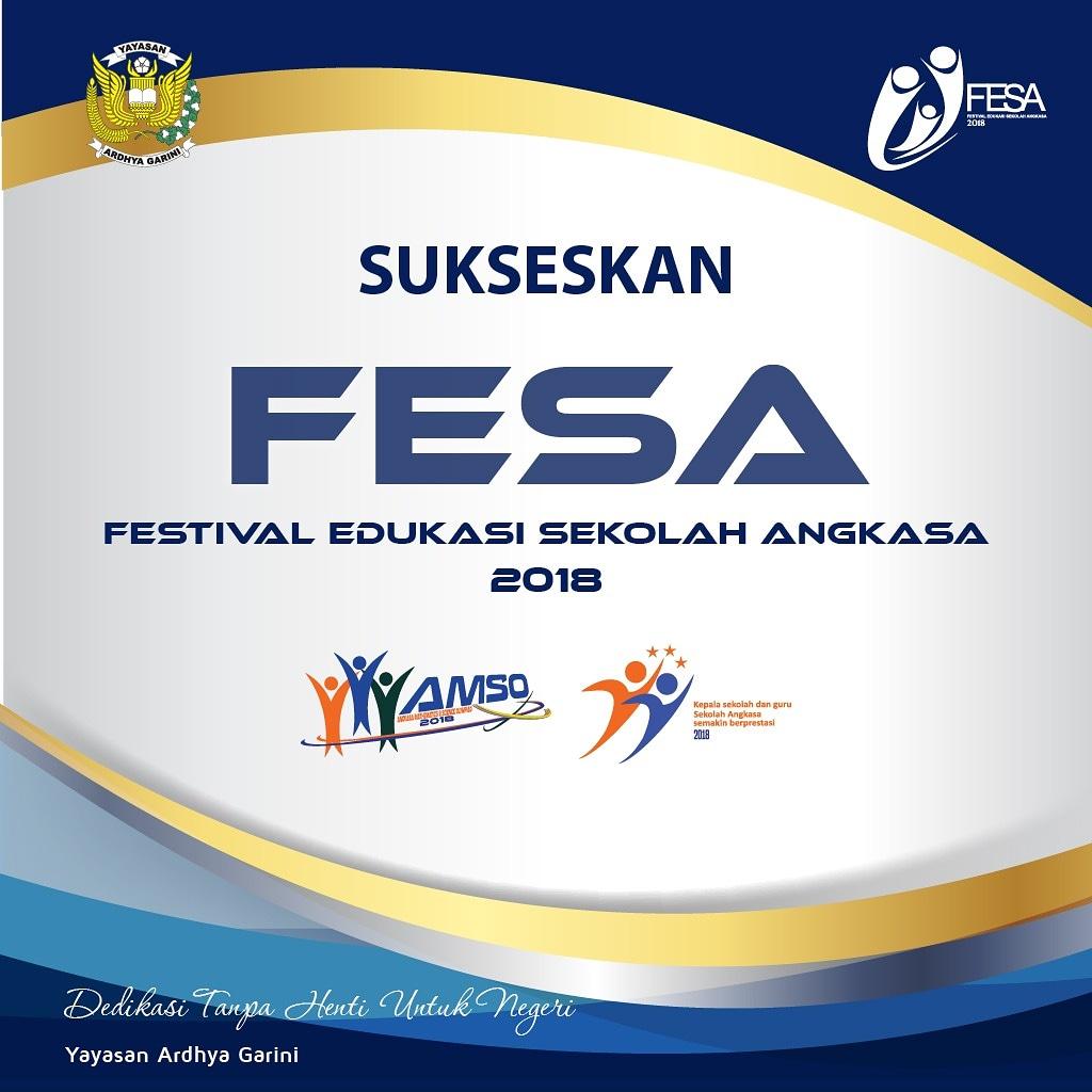 Sukseskan Festival Edukasi Sekolah Angkasa (FESA) 2018