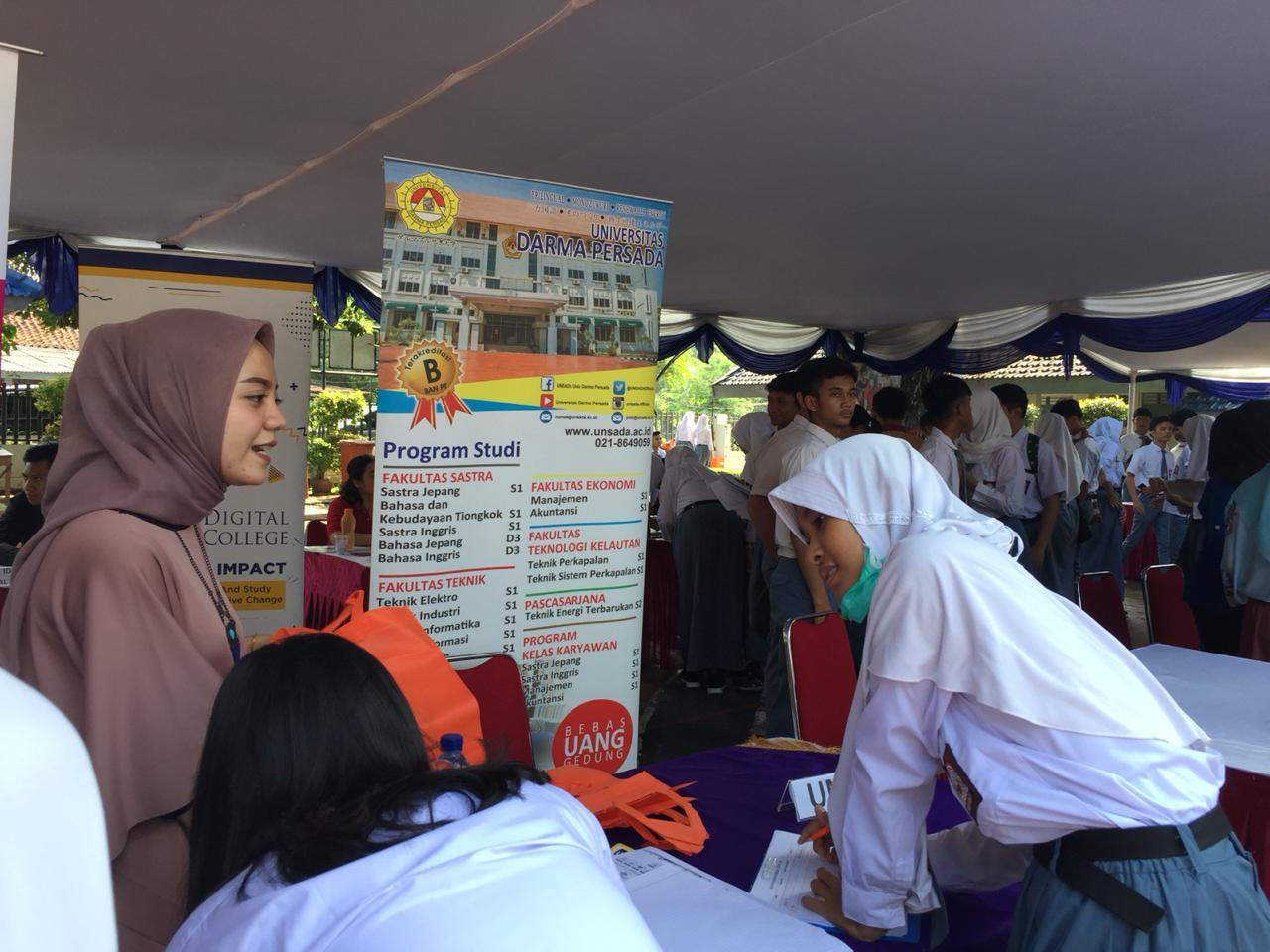 Edufair 2018 SMA Angkasa 2 Halim Perdanakusuma