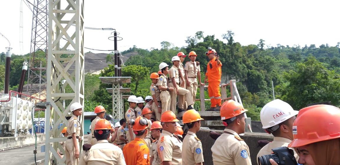 SMK Angkasa 1 Jakarta Kunjungi PLTA Saguling