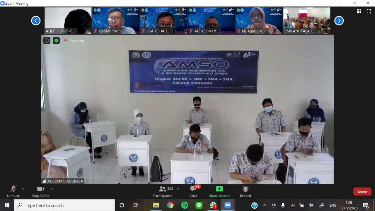 Final AMSO 2020 Dilaksanakan Secara Virtual