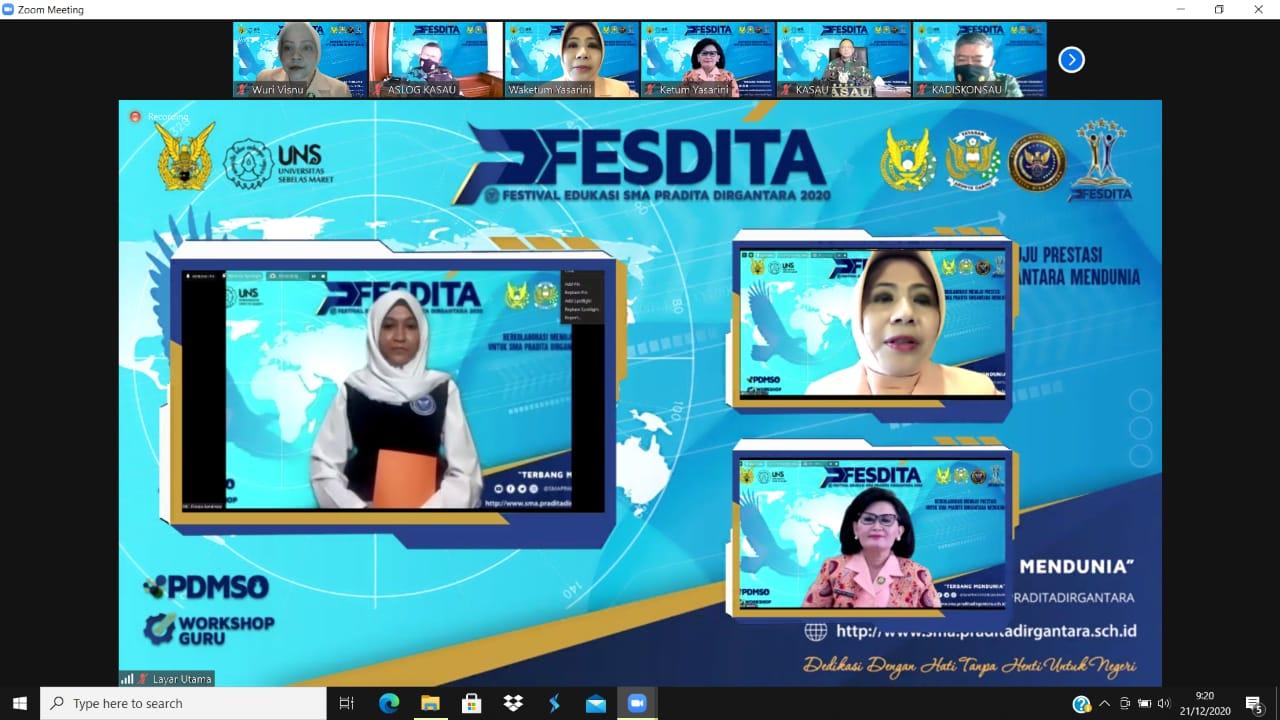 Fesdita 2020 Dilaksanakan Secara Virtual